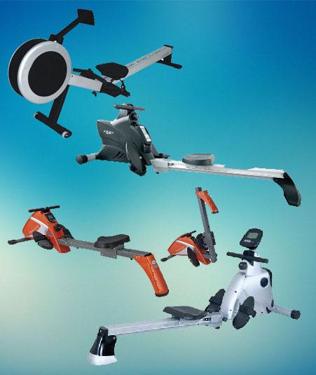 gym equipment rowing machine